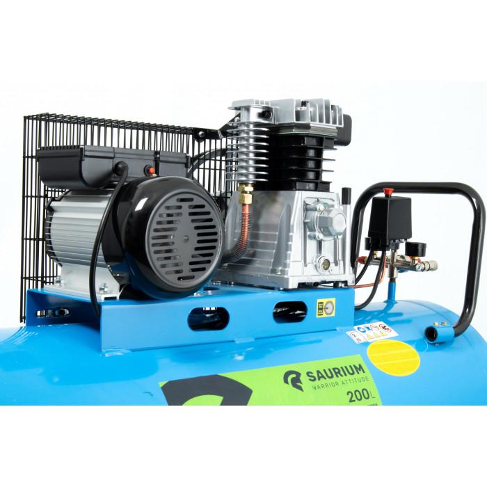 Compressor C/Correia 200lt 3hp Elétrico-SAU-37177