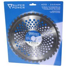 Disco Tugsténio para Roçadora 255mm x 40D