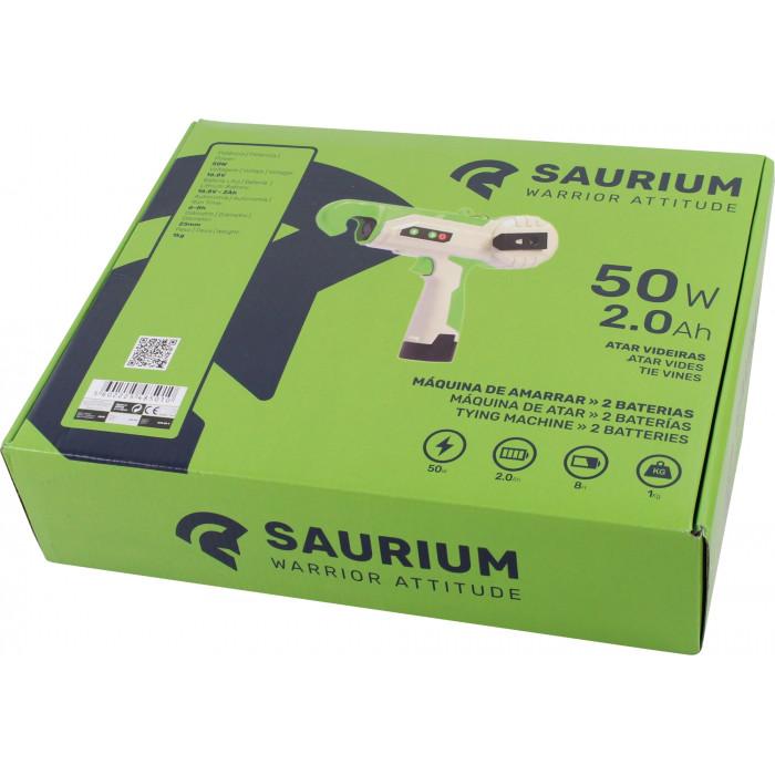 Atadora Elétrica Saurium 2 Baterias 2.0Ah