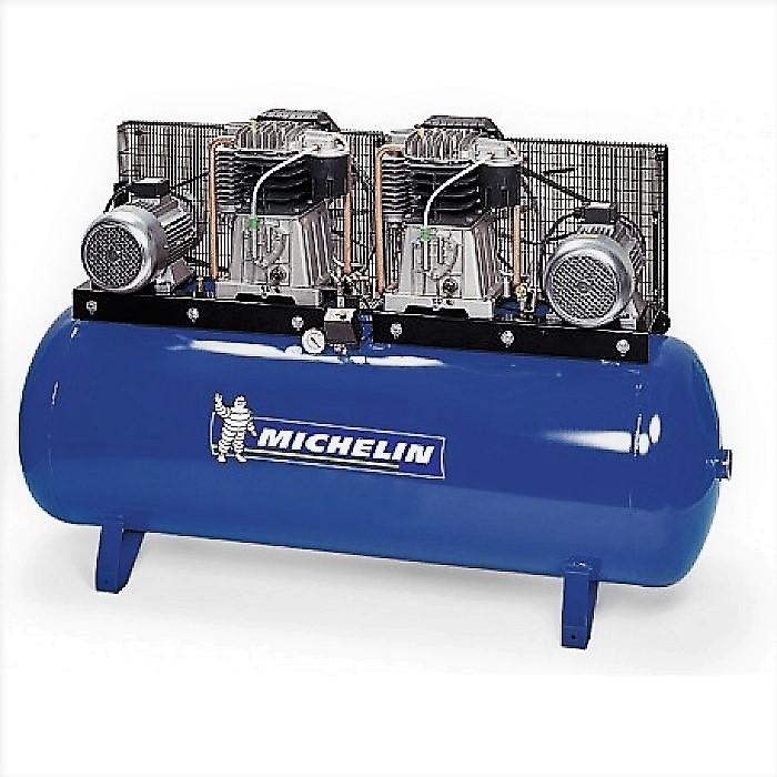 Compressor de Cabeça Dupla 660L/min s/ Quadro Elétrico