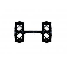 Roda de Ferro Redondo/Hexagonal - par