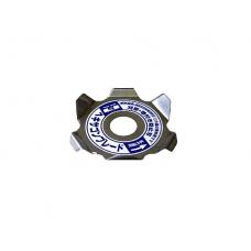 2 Discos Para Roçadora Hexagonal Anti Erva p/ Proteção de Cabeça SANYO METAL