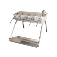 Enchedor Automático Inox C/ Tabuleiro 5 Bicos