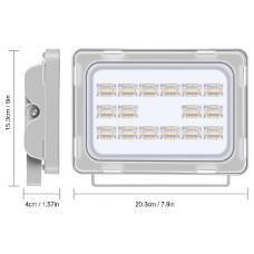Projetor de Led 50W/240V Exterior-MCPLW50