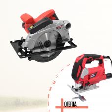 Serra Circular 1800 c/ laser + OFERTA Serra Tico-Tico c/ Laser