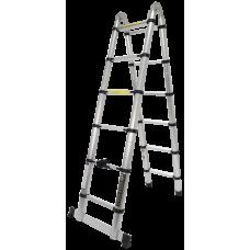 Escada Alumínio Extensível e Articulada 3,8M