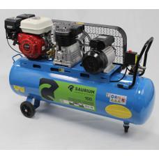 Compressor 150l C/Correia 2 em 1 Eléctrico e Gasolina Saurium