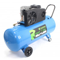 Compressor de Ar 200L, 3HP, 10Bar - SAURIUM