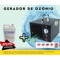 Gerador de Ozónio Portátil L 5000 MG/H (220V)