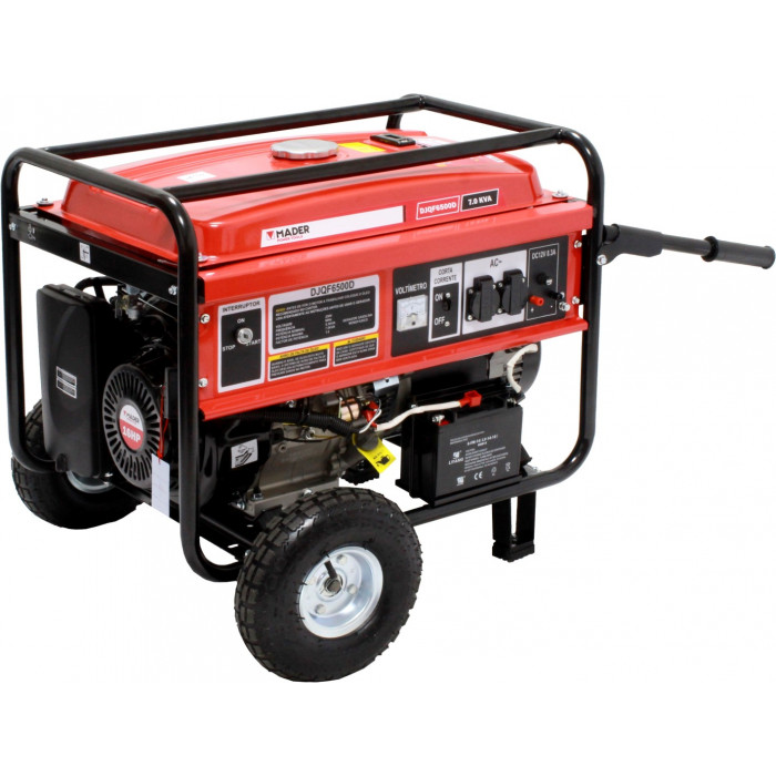 Gerador Gasolina 7,0 Kva c/rodas MPT-63602