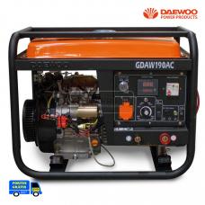 Gerador e MotoSoldador Daewoo GDAW190AC