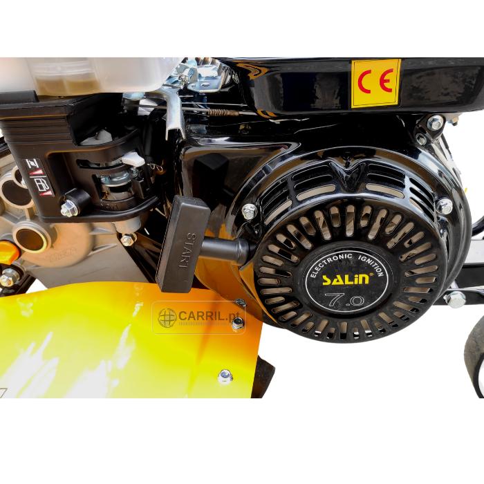 Motoenxada SALIN 7CV  3V + Freses + Rodas