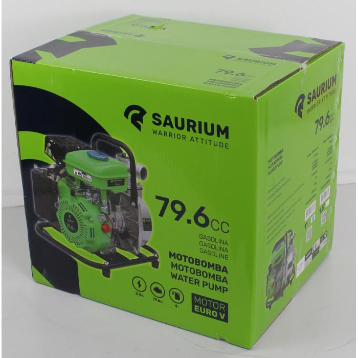 Motobomba Saurium 79.6cc 4T 38mm