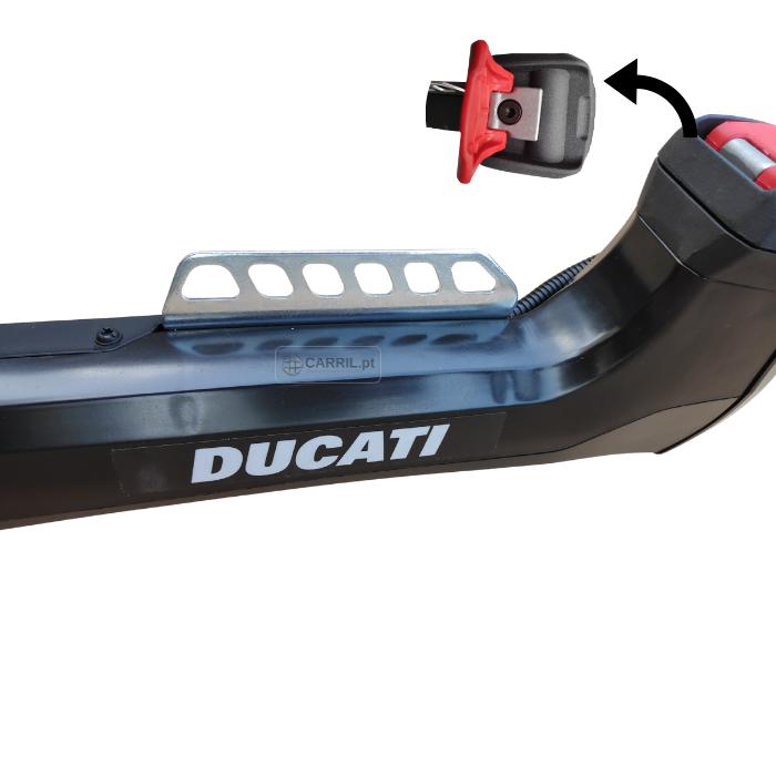 Roçadora DUCATI DBC5200X 51.7 cc-Anti-Vibração