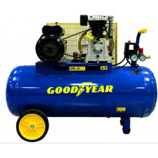 Compressor de Correias Goodyear 100L 10 Bares 3 CV