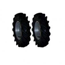 Roda Pneumática c/ Rasto de Trator 16/16.50-8 Especial